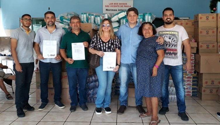 Atacadistas do Mato Grosso beneficiam projetos sociais