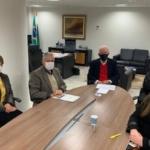 Presidente do Sinca PR visita vice-governador do estado